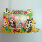 Qualität Plastic Promotional 3D PVC Cartoon Picture Frame (PF-A016)