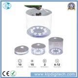 옥외 휴대용 태양 LED 야영 손전등
