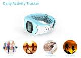 Reloj impermeable del ritmo cardíaco del diseño del podómetro del monitor del ritmo cardíaco de la aptitud de la pulsera del reloj elegante del Wristband