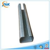 Precio de acero galvanizado caliente de la correa del material de construcción de la venta C
