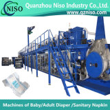 Pañal de alta velocidad Full-Automatic del bebé que hace la máquina con Ynk450-Hsv