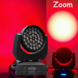 LED Stage Quad RGBW 36PCS 10W Wah com Zoom LED Moving Head Light (HT-LM-3610QZ)