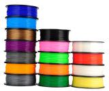 Filamento di plastica all'ingrosso di PLA dell'ABS di stampa 3D di prezzi 1.75mm/3mm