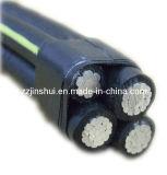 Проводник /PVC/XLPE/Overhead/Aluminum силы/воздушный кабель пачки