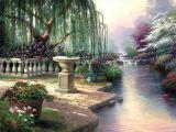 Peinture à l'huile de paysage - 02