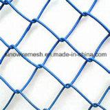 Ячеистая сеть загородки звена цепи PVC Sailin