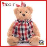 Het promotie Zachte Speelgoed van de Pluche van de Teddybeer van de Hond van Giften Baby Gevulde