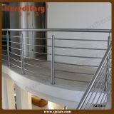 Corrimão tubular do aço inoxidável para o terraço interno (SJ-S321)