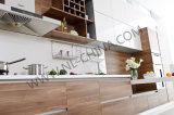 Houten Keuken Cabinetry van het Meubilair van de Keuken van Morden de Houten met Scharnieren Blum