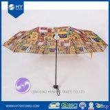 Reso personale progettare l'ombrello per il cliente stampato della signora Sun