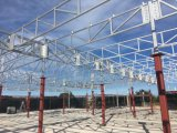 Telhado Prefab 598 do pavilhão da construção de aço da instalação PIR