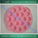Parte di gomma del silicone modellata colore Mixed