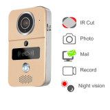 Segurança Home remota sem fio nova de Bell de porta do intercomunicador do telefone da câmara de vídeo de WiFi quente