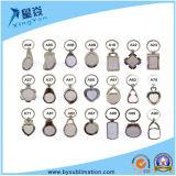 Geschenk-Firmenzeichen-kundenspezifisches Schlüsselketten-Sublimation-Metallschlüsselring