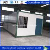 Het zeer Goedkope Vouwbare Modulaire Huis van de Container van het Frame van het Staal en het Comité van de Sandwich