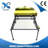 Máquinas das impressoras da camisa