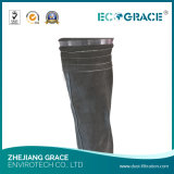 Saco de filtro tecido fibra de vidro de pano do filtro dos media da filtragem