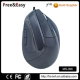 Nuovo mouse verticale ottico collegato USB sano ergonomico 6D