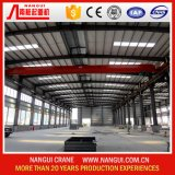 Sale를 위한 여행 Electric 2 Ton Single Beam Girder Overhead Bridge Crane