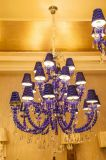 Luxury Golden Rose Candelabro por Hotel