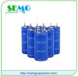 최신 판매 6000UF 25V 알루미늄 전해질 실행 축전기