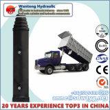 Cilindro hidráulico telescópico para o caminhão de descarga