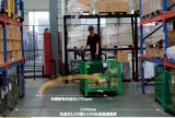 Chargerの2ton Hot Sale Side Stand Type Electric Pallet Truck