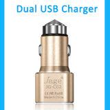 Польза мобильного телефона и электрический тип 5V 1A удваивают заряжатель автомобиля USB