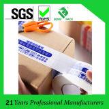 Producto marcado BOPP cinta de embalaje / embalaje de encargo impresa de la cinta de BOPP