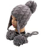 Шлем Knit руки повелительниц коренастый с картиной Earflap