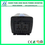 Портативный инвертор синуса Micro 1500W чисто с цифровой индикацией (QW-P1500)