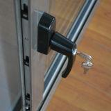 Maniglia scura con la finestra di scivolamento di alluminio anodizzata tasto della lega di alluminio/finestra di alluminio K01002