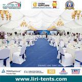 Tent van de Gastvrijheid van het Huwelijk van de Spanwijdte van de Capaciteit van pvc van het aluminium de Grote Duidelijke