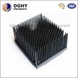 Dissipatore di calore dell'aletta piegato alluminio di fabbricazione della Cina con il disegno speciale