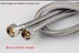 Manguera flexible trenzado de aluminio para baño y cocina