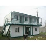 옥외 우아한 디자인 판매를 위한 모듈 Prebuilt 조립식 콘테이너 집
