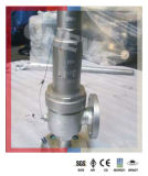 L'acier inoxydable CF8m/CF8 a bridé soupape de sécurité de sûreté pour le gaz
