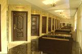Puerta exterior de la puerta de oscilación de la seguridad de la cantidad de la puerta de acero de la puerta de la seguridad alta (G135)