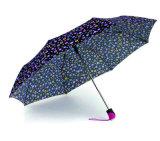 Parapluies colorés d'Open&Close de fois de l'impression 3 de POINT (YS-3FD22083969R)