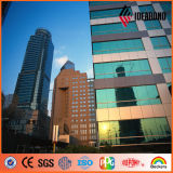 1220*2440mm Außenwand-Dekoration-Aluminiumwand-Fassadenelement in Dubai