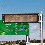 I video segni esterni del messaggio del tetto del tassì dell'automobile inscatolano Bus Display De LED