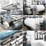 Saco de papel usado que faz a máquina