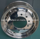 (22.5X8.25, 9.00X22.5) rotelle di alluminio forgiate del camion, cerchioni di alluminio, rotella della lega, rotelle d'acciaio del camion