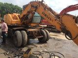 Excavadores usados de la rueda de Samsung Mx6w-2 del excavador de la rueda de Samsung