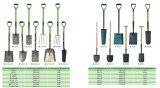 Type differente del giardino Tools Agricultural Tools Wth Handle di Shove Spade