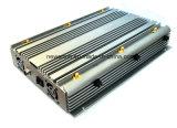 jammer de controle remoto móvel poderoso do jammer 315/433MHz da freqüência ultraelevada do VHF do jammer do GPS WiFi do jammer do sinal do telefone 90W 6-Antennas