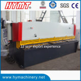 QC11y-12X3200 Hydraulic Guillotine Shearing Machine, Cutting plateado de metal Machine