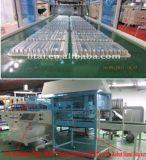 Máquina plástica de Thermoforming da placa do elevado desempenho com empilhador