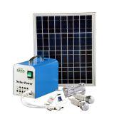 Электрическая система зеленой энергии Ebst-050A 10W портативная солнечная