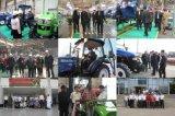 Foton Lovol果樹園、ブドウ園50HP、60HPのセリウム、OECDの証明が付いている4WDトラクター